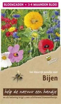 Flower mix bijen - hoog