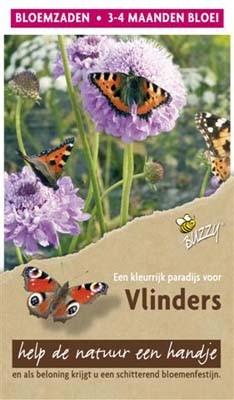 Flower mix vlinders - hoog