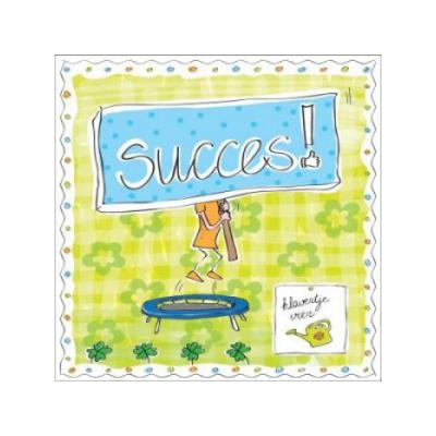 klavertje vier zaadjes- succes - seeds & greets