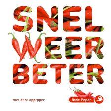 rode peper zaadjes - sla je er doorheen - seed & greets De kaart is een kant en klaar groeizakje met rode peper zaadjes.